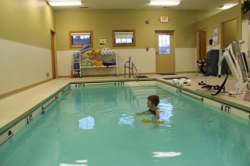 Elkins Physical Therapy provides aquatic therapy services for clients with a variety of different needs in Elkins, WV
