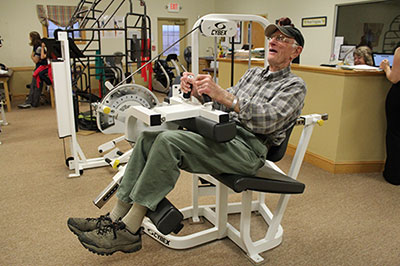 Joe Tekel at Elkins Physical Therapy in Elkins, West Virginia