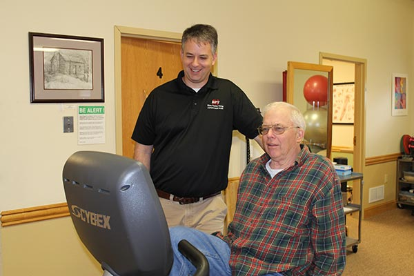 Alton (A.D.) Talbott - patient of Elkins Physical Therapy in Elkins, WV